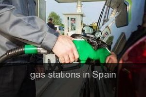 Gas stations in Spain
